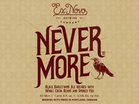 Ex Novo Nevermore Bottle Label