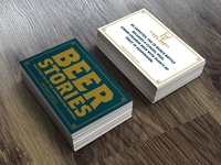 Beer Stories Playing Cards