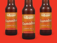 Tanaka Tangerine Pale Ale