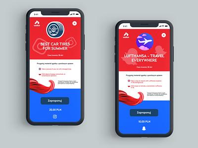 INDAHASH - WEBAPP | UI | MOBILE application mobile uiux ux ui design app
