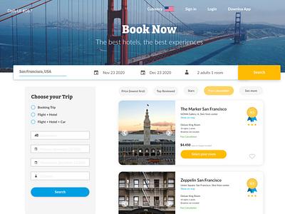 Daily UI #067 - Hotel Booking daily ui 67 creation studying ui design dailyui dailyuichallenge daily 100 challenge hotel booking