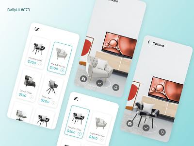 Daily UI #073 - Virtual Reality design ui dailyui daily 100 challenge dailyuichallenge daily ui 73