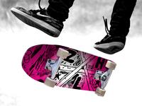 Zulah Skateboard Design