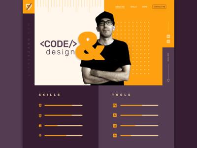 Personal webdesign