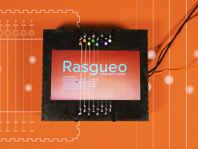 Rasgueo | Creative Technology creative technology interactive design design installation interaction design