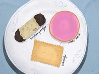 Dutch Cookies are called koekjes