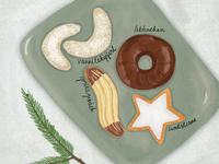 German Cookies are called Kekse
