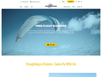 Home Page Design for Free Flight Elsinore
