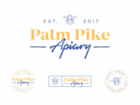 Palm Pike Apiary Identity System