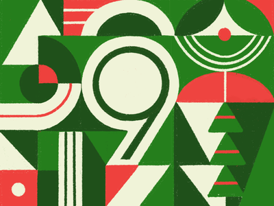 9 number countdown vector illustration