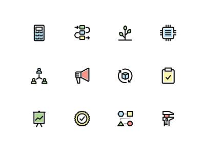 Product icon set product icons icon set