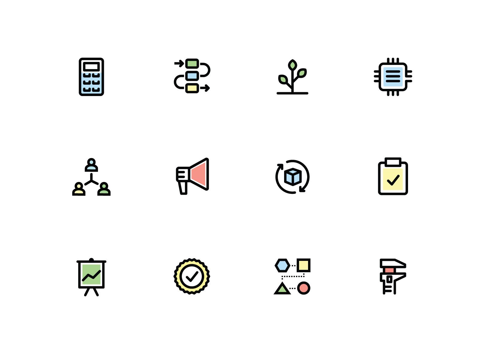 Product icon set