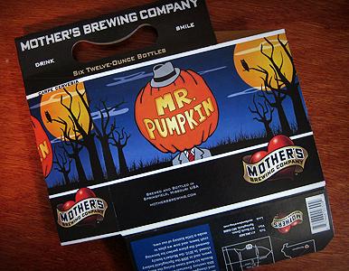 Mr. Pumpkin Package Design
