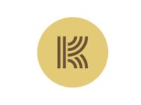 Logo initial, K