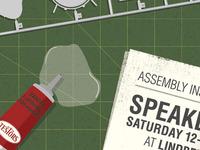 Speakeasy model NYE poster