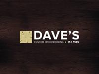 Daves Custom Woodworking Logo