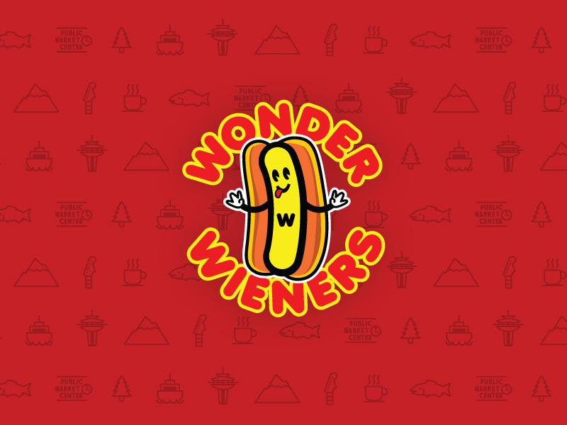 Wonder Wieners Branding