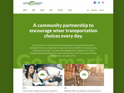Lets Go Smart website community