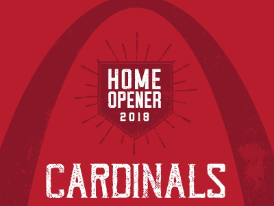 Cardinals Dbacks Poster April