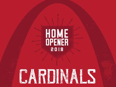 Cardinals Dbacks Poster April