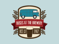 Buses At The Brewery - 2012
