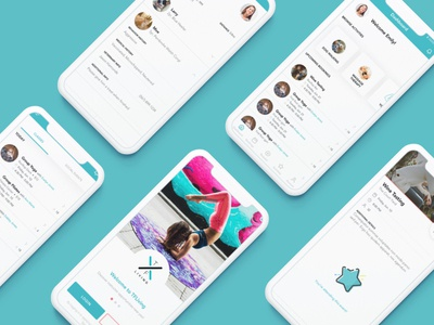 Services/fitness app product design app design app