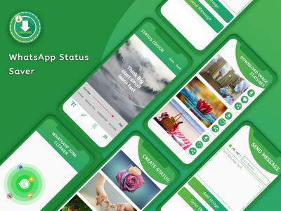 WhatsApp Status Saver App UI