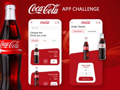 Coca-Cola App UI
