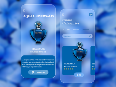 Perfume App Glassmorphism UI/UX Design shopping-app-ui-ux shopping-app-ux shopping-app-ui shopping-app minimal minimalist-design flat-design ux-design ui-design user-interface-design uiux-design app-design