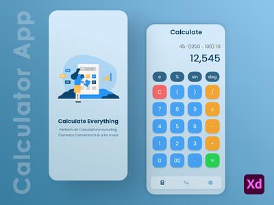 Calculator App Challenge minimalist minimal-design neat-design sleek-design calculator-mobile-app-ui calculator-uiux calculator-ux calculator-ui calculator-design calculator-redesign calculator-app calculator