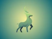 Deer Logo shots figma branding photoshop design ui web logo design logodesign logotype logo deer illustration deer logo
