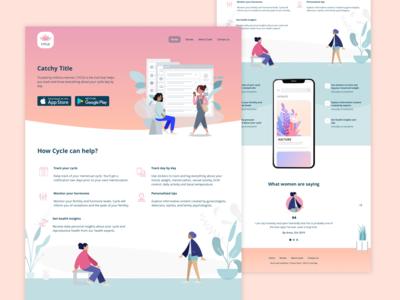 Landing Page Daily UI