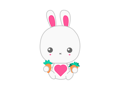 Bunny vector illustration