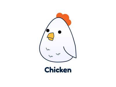 Chicken vector illustration chicken