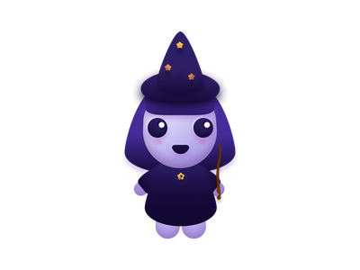 Witch witch vector illustration