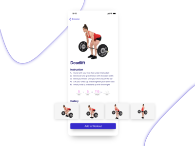 Exercise Details Exploration exercise gallery details physio gym workout