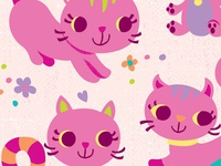 WIP kitties, kitties, kitties