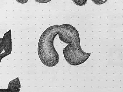 Fox Logo Sketch Draft beauty salon hair fox volume sketch illustration minimal logotype logo