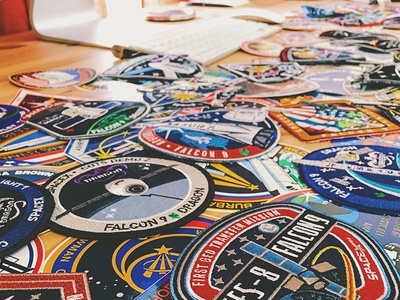 Patch Research space x rockets rocket spaceflight space nasa badge patch spacex