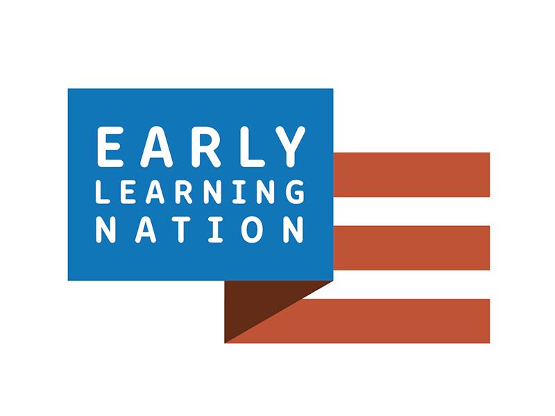 WIP Logo simple id logo education learning merica