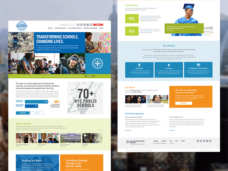 NYC Outward Bound Schools by Michael Aleo for LGND on Dribbble
