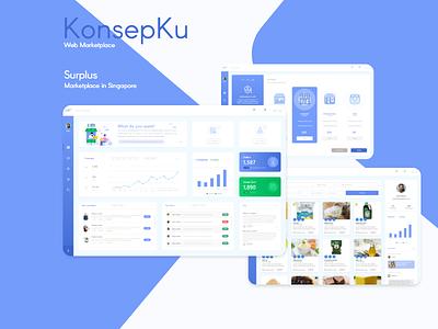 B2B Commerce ecommerce shop web marketplace bussiness web design ui