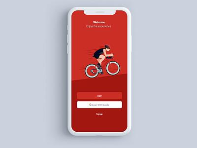 Login Design app ui  ux design design ui