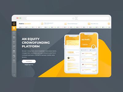 Fintech ux vector branding company app bussiness web app ui  ux design design ui