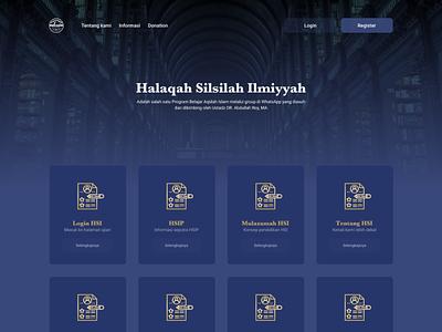 HSI Abdullah Roy branding web ui  ux design design ui