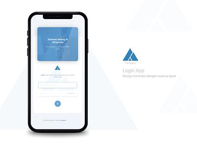 Login App login design mobile app design app ui  ux design design ui