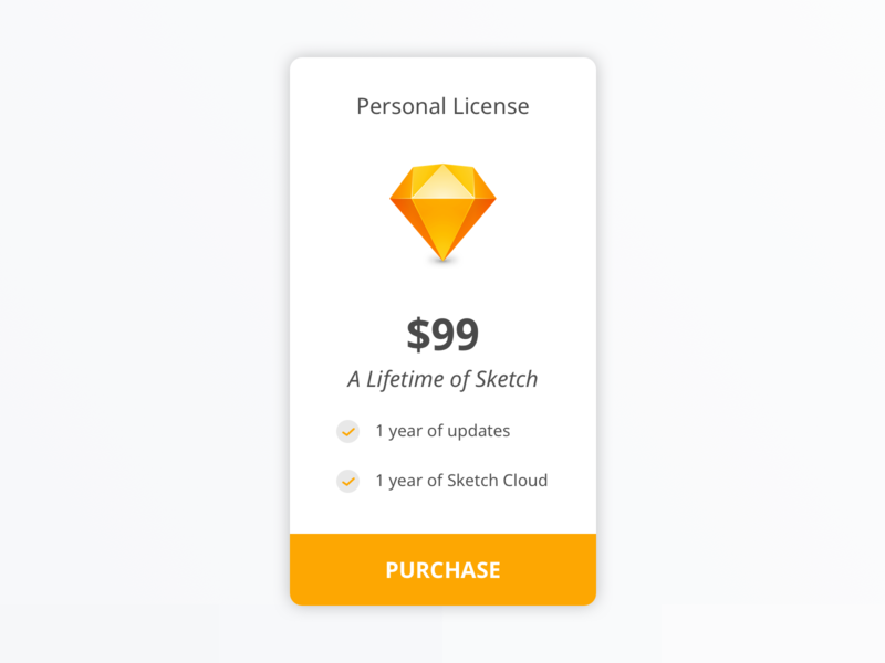 #30 Daily UI Challenge / Pricing sktech purchase pricing dailyui 030 ui dailyuichallenge