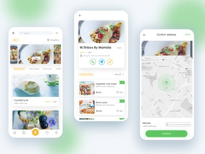 Find gourmet restaurant_APP