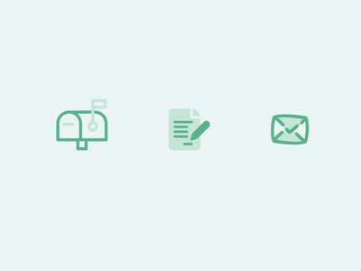 Contact Us Icon dailyui 028 dailyui contact us contact icon line icon stroke icon illustrator ui flat green motion animation gif after effects icons icon design flat design