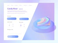 Cake Order Webpage